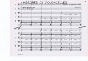 Histoires de violoncelles